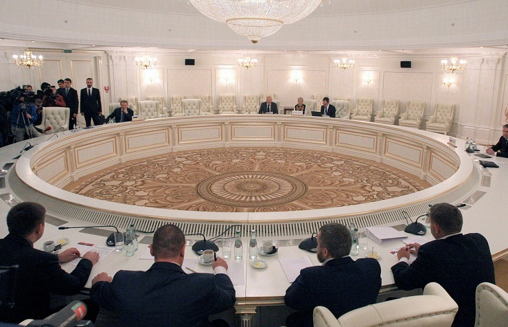 Contact Group on Ukraine meeting in Minsk, September 19, 2014