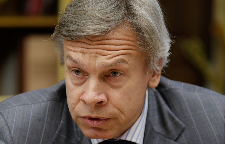 Russia's State Duma's Foreign Affairs Committee Alexey Pushkov