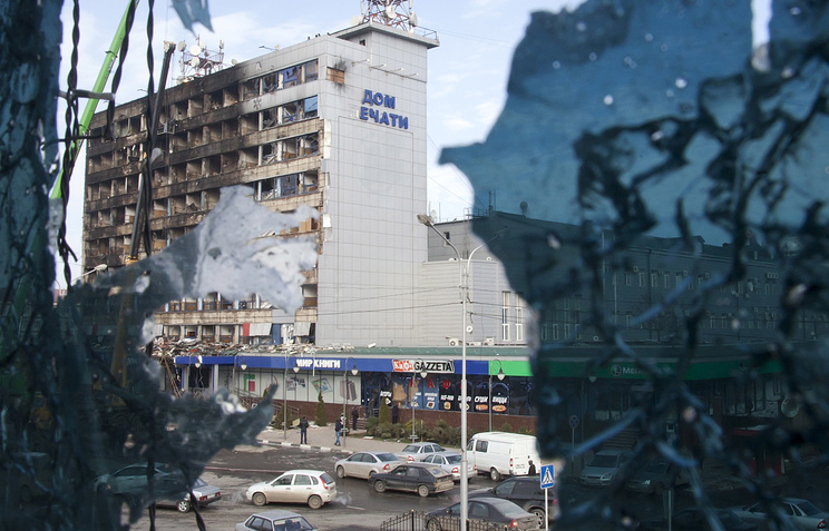 Press House in Grozny after terrorist attack