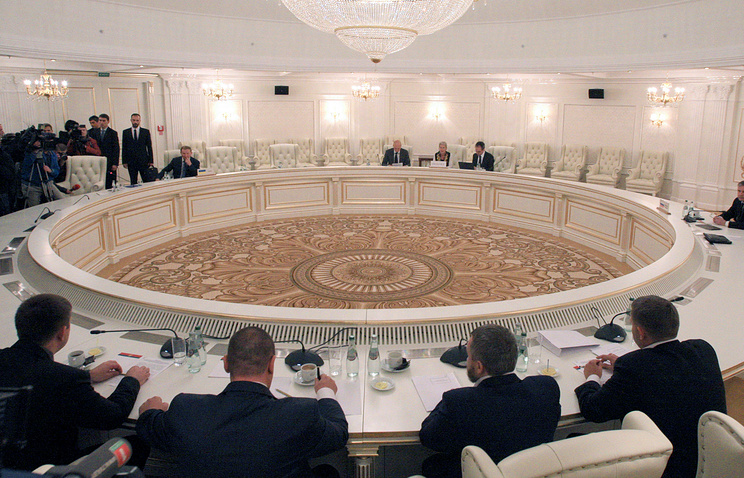 Meeting of the Ukraine contact group in Minsk (archive)