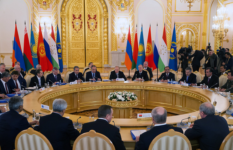 Session of the Collective Security Council of the Collective Security Treaty Organization (CSTO) in Moscow