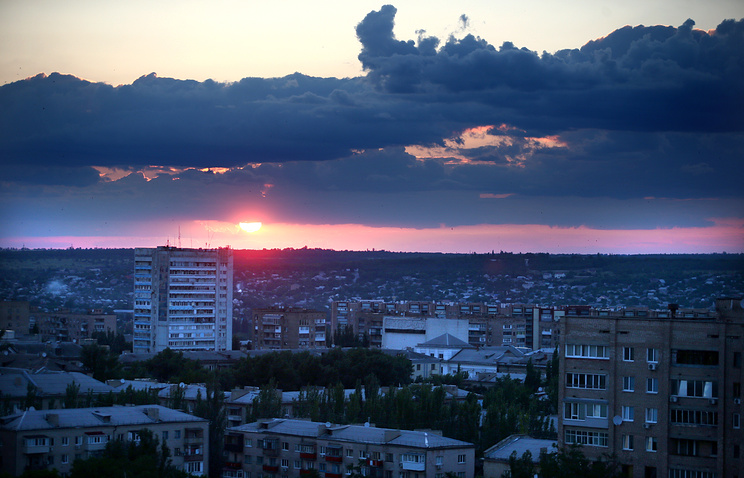 The city of Luhansk