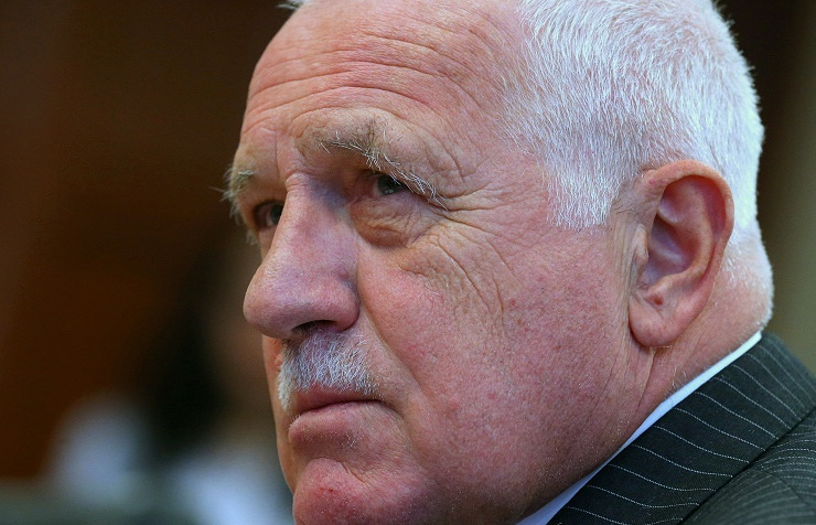The Czech Republic's former president, Vaclav Klaus
