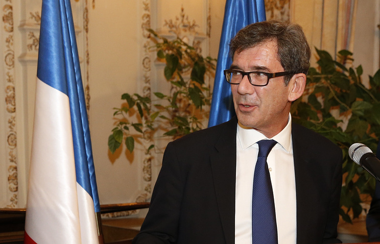 French Ambassador to Moscow Jean-Maurice Ripert