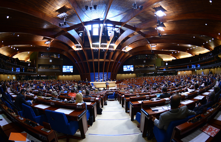 A session of the PACE in Strasbourg (archive)