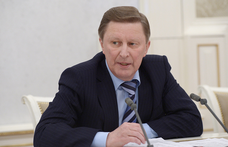 Russian presidential administration chief Sergey Ivanov