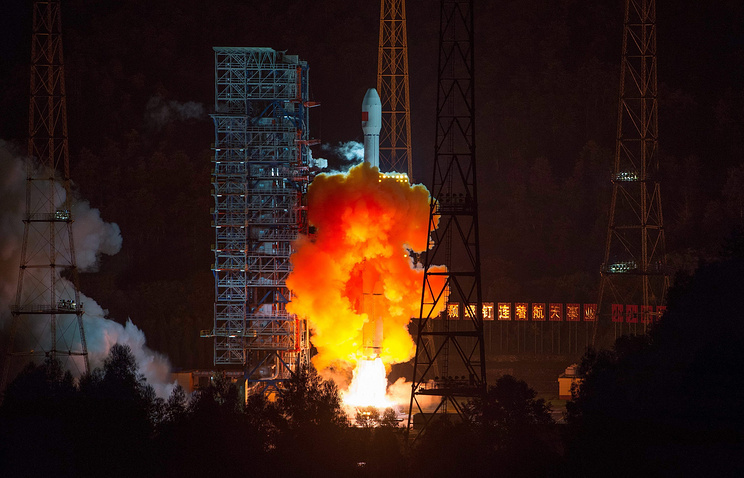 Xichang Satellite Launch Center in southwest China