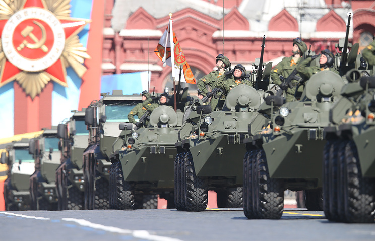 Victory Day parade in Moscow in 2014