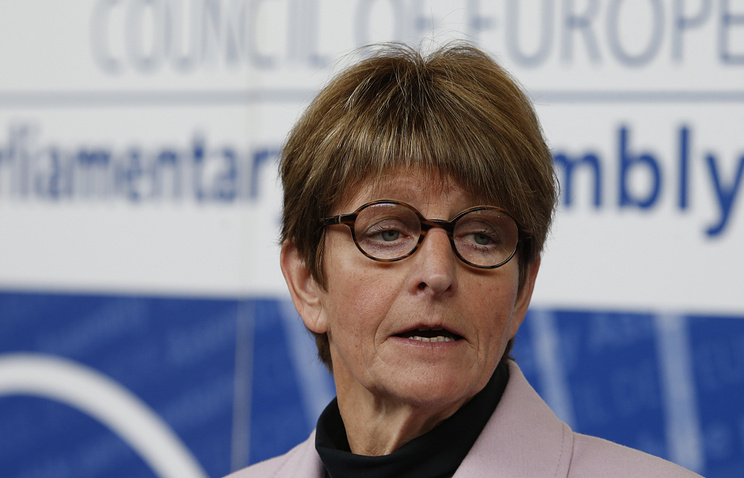 Anne Brasseur, the president of the Parliamentary Assembly of the Council of Europe