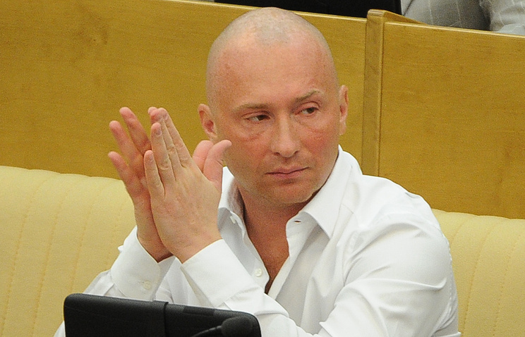Vice speaker of the State Duma lower house of Russia's parliament Igor Lebedev