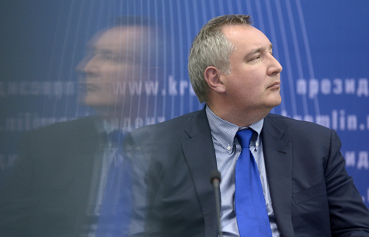Russian Vice-Premier Dmitry Rogozin