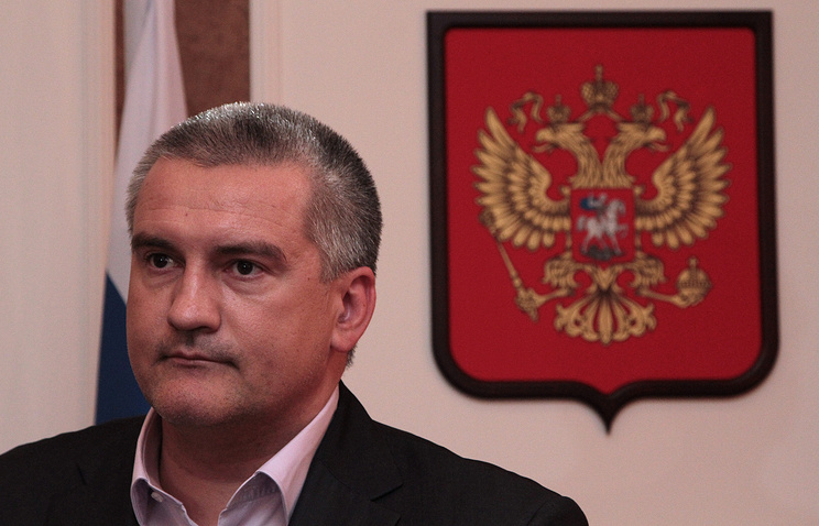 Head of the Crimean Republic, Sergey Aksyonov