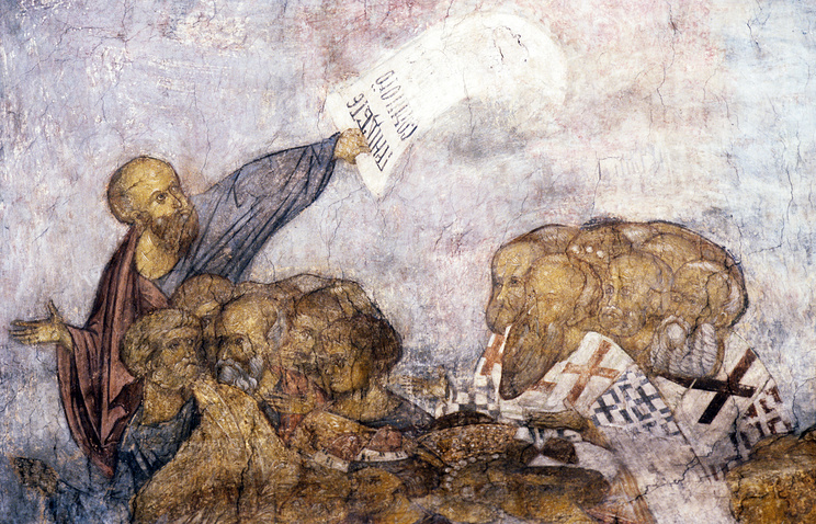 Andrei Rublev's frescoes (archive)