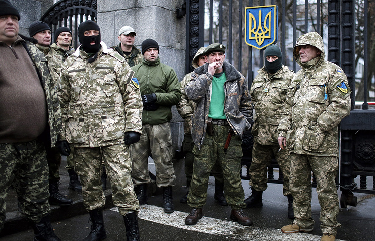 Aidar fighters (archive)