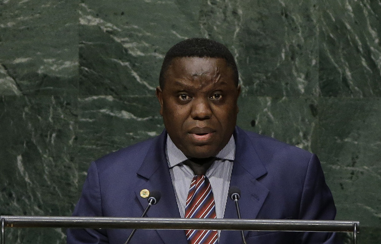 Zambia's Foreign Minister Harry Kalaba