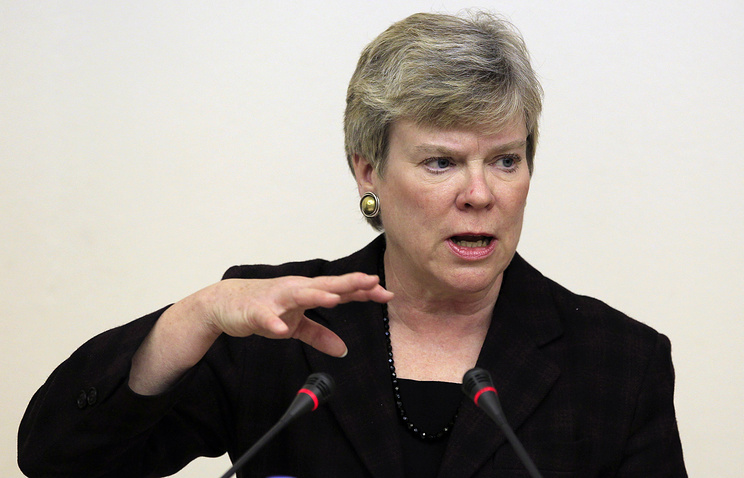 US Under Secretary of State Rose Gottemoeller