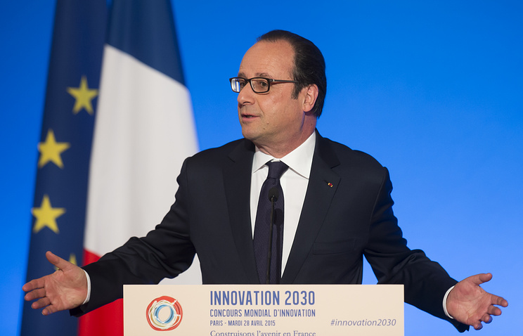 French President Francois Hollande (archive)