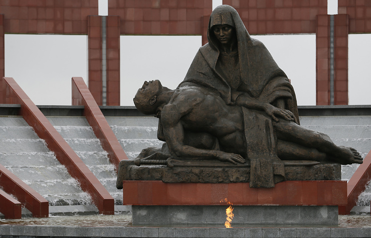 Monument dedicated to the memory of soldiers who died for their country
