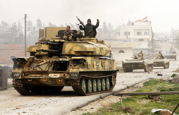 Syrian army tanks (archive)