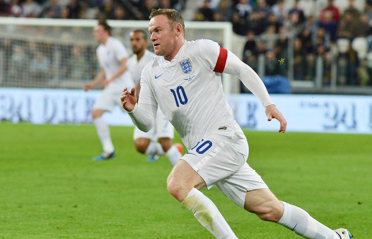 Wayne Rooney, captain of the England national football team