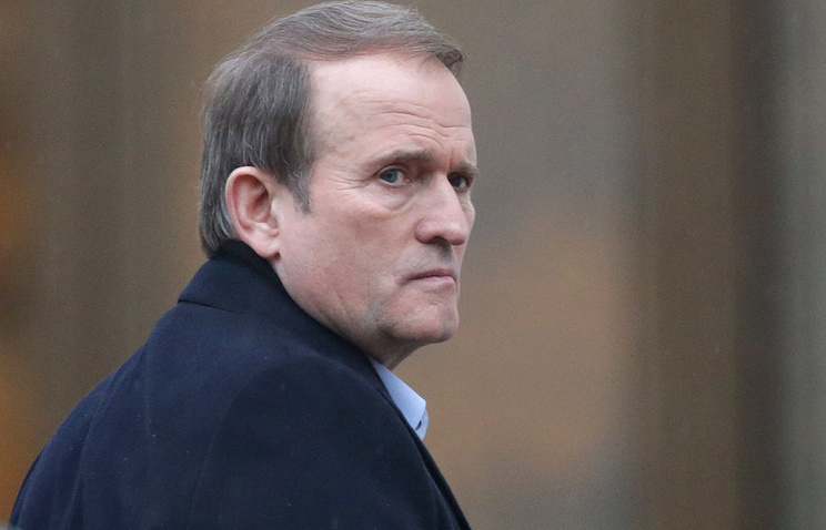 Leader of the Ukrainian Choice public movement Viktor Medvedchuk