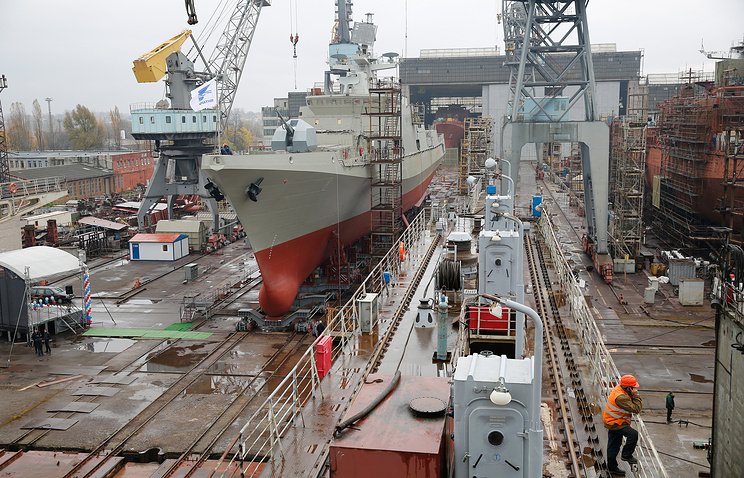 A Project 11356 frigate (archive)