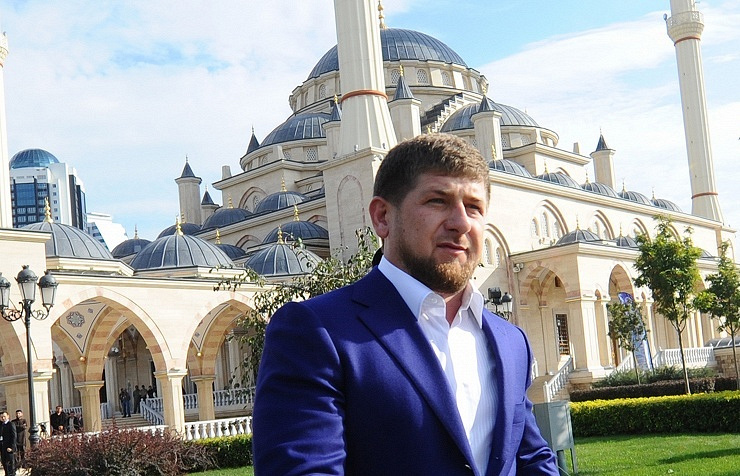 The Chechen leader Ramzan Kadyrov