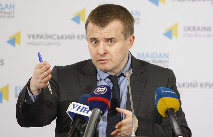 Ukraine's Minister of Energy and Coal Industry Vladimir Demchishin