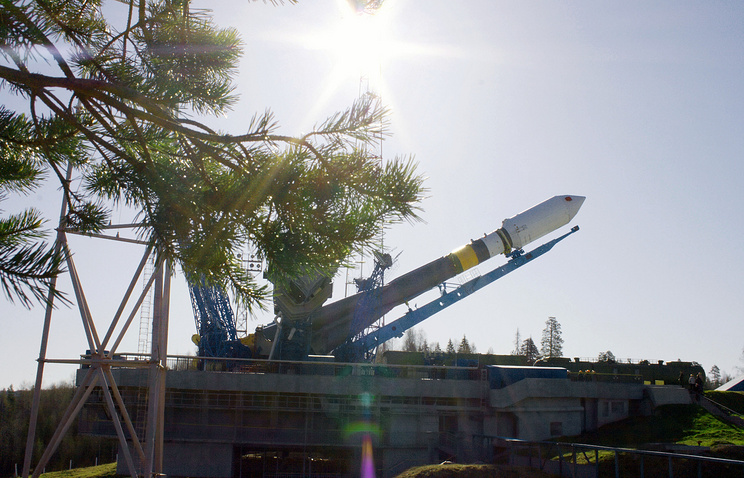 Soyuz-2 carrier rocket at Plesetsk cosmodrome (archive)
