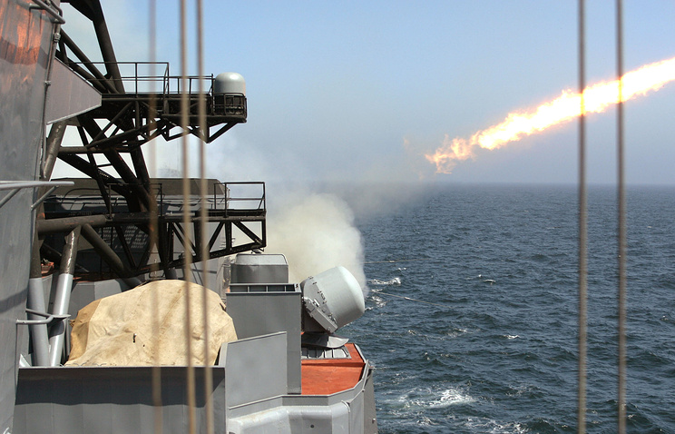 Ship-based anti-aircraft missile system (archive)