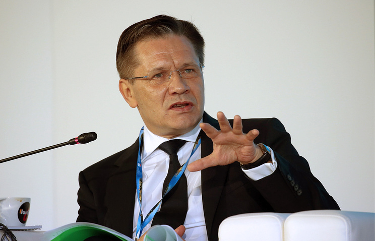 First Deputy Economic Development Minister Alexei Likhachev