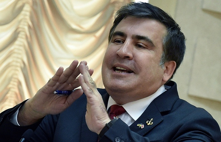 Governor of Ukraine's Odessa region Mikheil Saakashvili