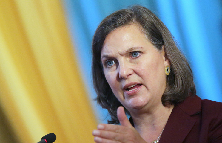 US Assistant Secretary of State for European and Eurasian Affairs Victoria Nuland