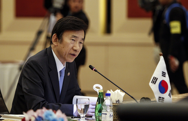 South Korean Foreign Minister Yoon Byung-se
