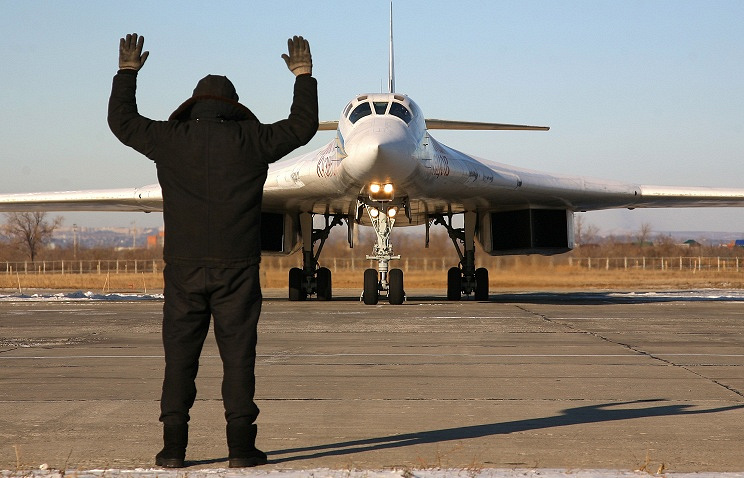 Strategic bombers Tupolev-160