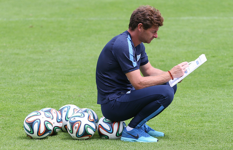 Head coach of Zenit football club Andre Villas-Boas