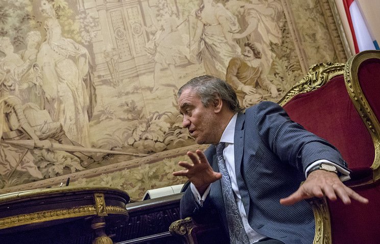 Artistic director of St. Petersburg's Mariinsky Theater Valery Gergiev