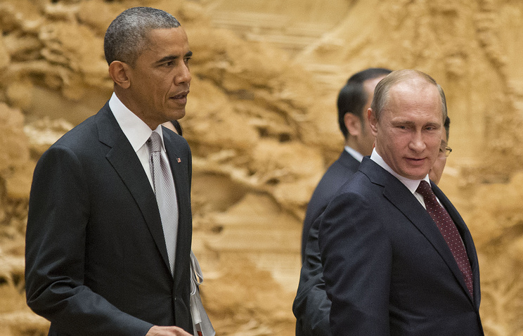 US and Russian Presidents Barack Obama and Vladimir Putin (archive)