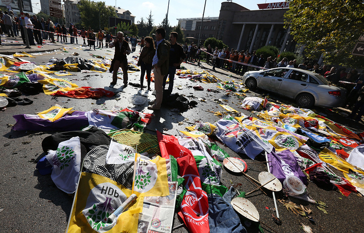 Explosions in Turkey's capital city