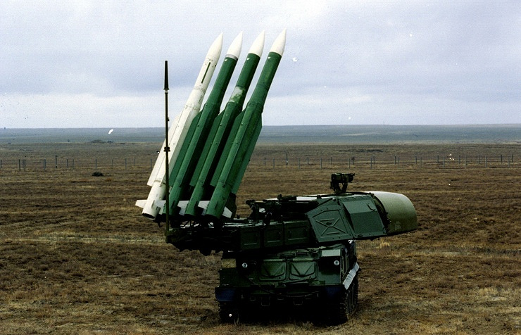 Buk M1 air defense system (archive)