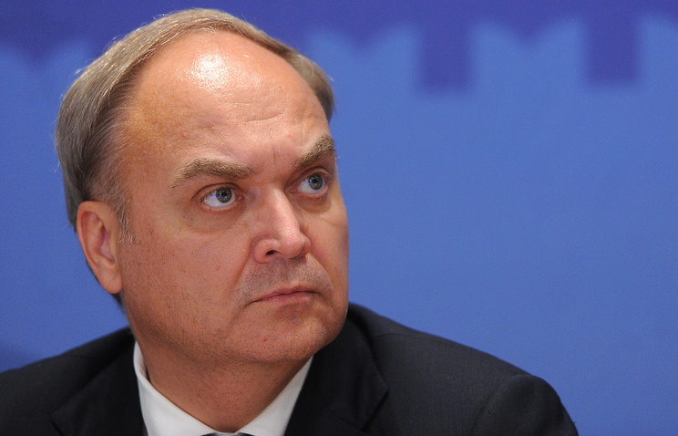 Russia's Deputy Defence Minister Anatoly Antonov
