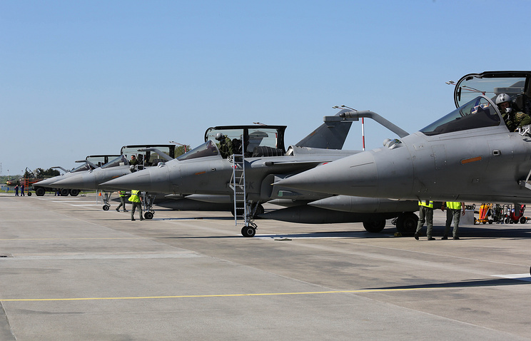 French Air Force fighter jets