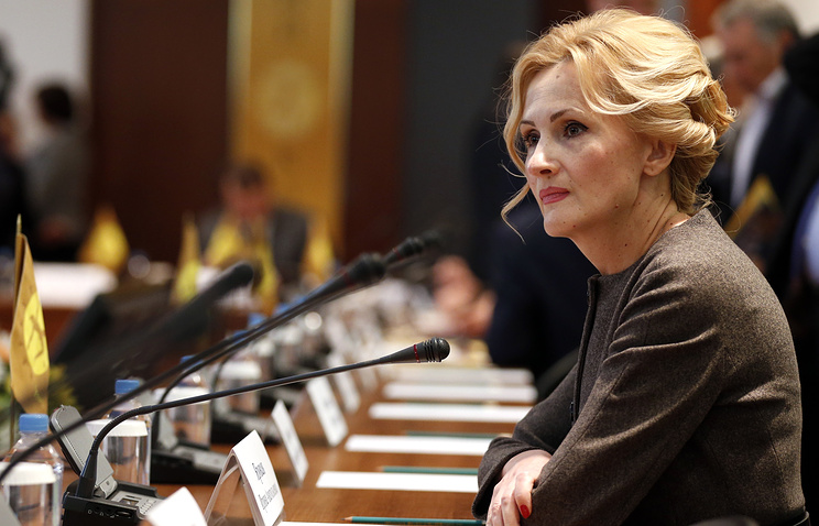 Chairperson of Russian State Duma's Committee on Security and Fighting Corruption Irina Yarovaya