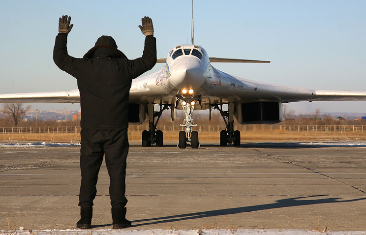 Tu-160 strategic bomber