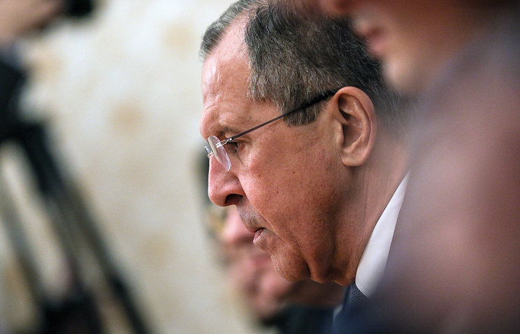 Russia's Foreign Minister Sergey Lavrov