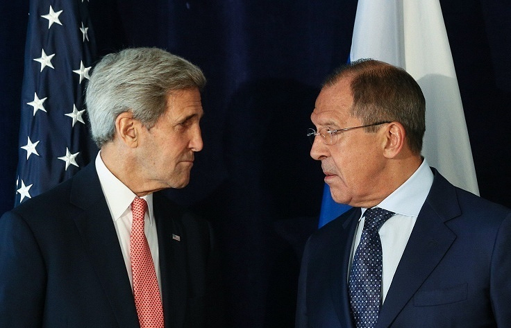 US Secretary of State John Kerry and Russian Foreign Minister Sergey Lavrov (archive)