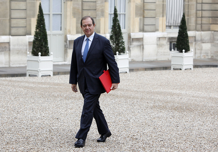 The former president of the French National Assembly Patrick Ollier