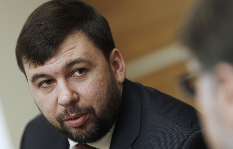 DPR envoy to Contact Group Denis Pushilin