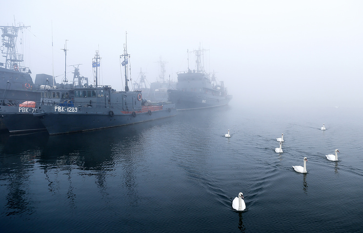 Rescue boats of Baltic Fleet