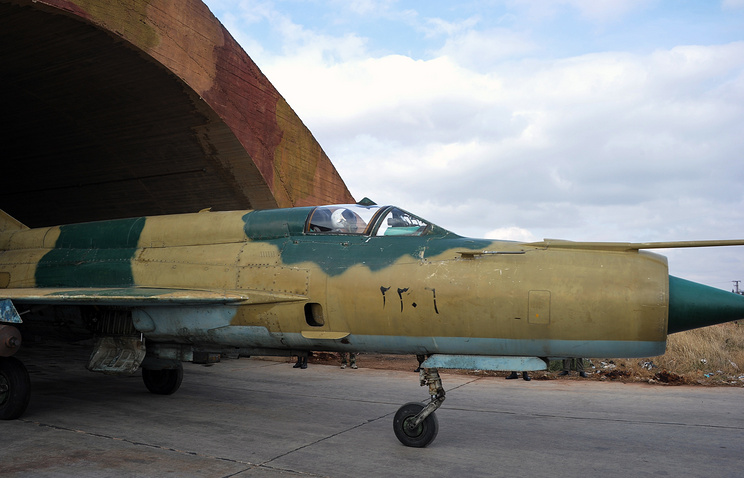 Syrian air force MiG-21